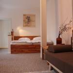 Ferienwohnung Erfurt Schlafzimmer
